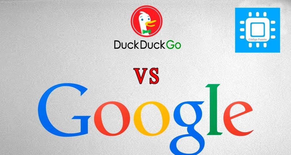 💻 DuckDuckGo vs Google   Codigo Fuente