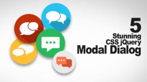 5 Ventanas Modal JS/CSS que no te puedes perder