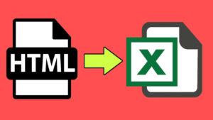 Convertir tabla HTML a un archivo Excel con Javascript
