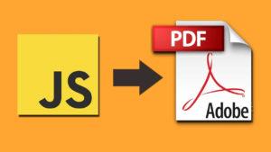 Crear PDF usando Javascript