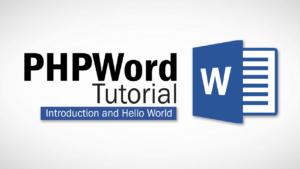 Tutorial PHPWord Crear Docx desde HTML
