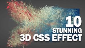 10 efectos CSS 3D impresionantes que debes ver
