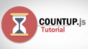 Tutorial CountUp.js   Animación de Conteo con Javascript