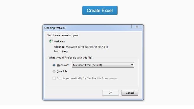 crear excel con javascript