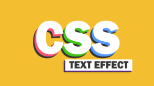 15 impresionantes efectos de texto en CSS puro