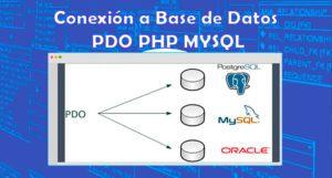 Conexión a Base de Datos PDO PHP MYSQL