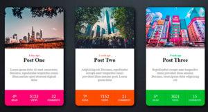 Diseño de Tarjeta de Estilo RPG con efecto de Desplazamiento HTML y CSS